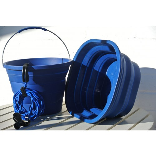 Combo - Packaway Bowl, Bucket and Pegless Clothes Line.